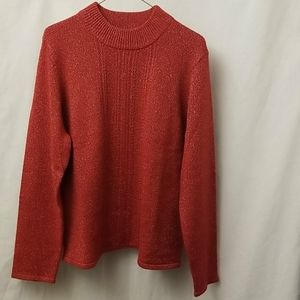 Tradition Red Sweater Womens Size XL 18